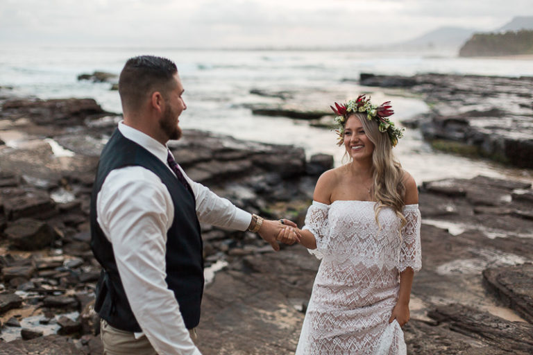 Sublime Point wedding