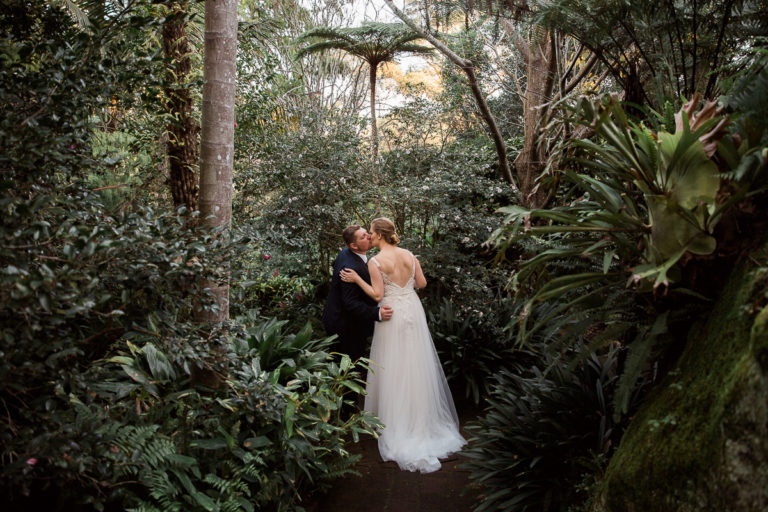 Camellia Gardens wedding