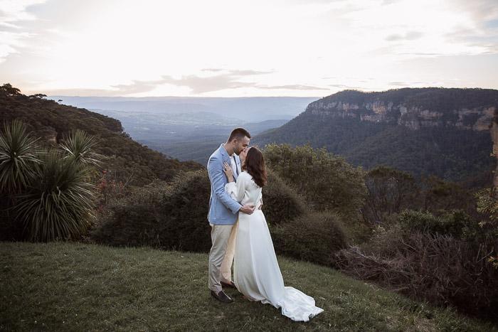 Katoomba wedding
