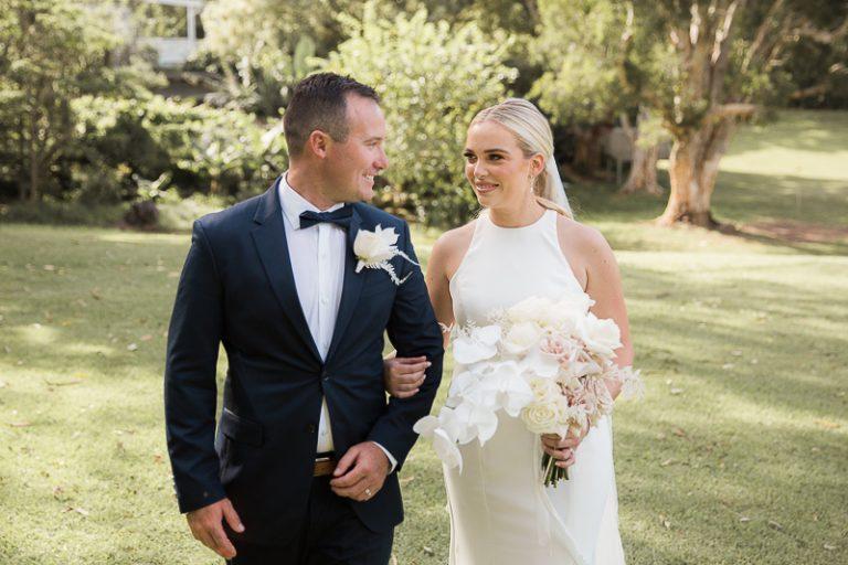 Headlands Hotel wedding